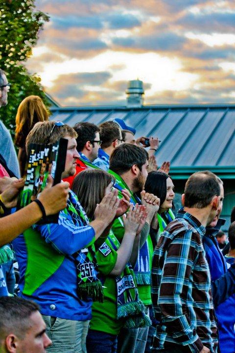 Fans Flock To Semi-Finals