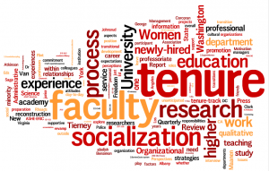 First official faculty tenure