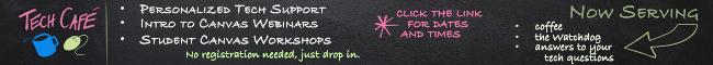 tech cafe web banner