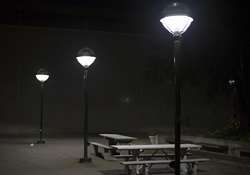 Unsafe lighting on campus brought to attention - The Watchdog