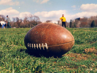 imagebank photo of football on field