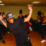 Hip-hop dance workshop as part of Black History Month
