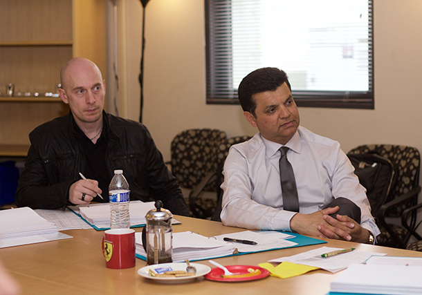 James Torrence and Faisal Jaswal participate in the committee.