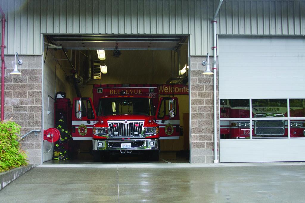 Fire truck smaller
