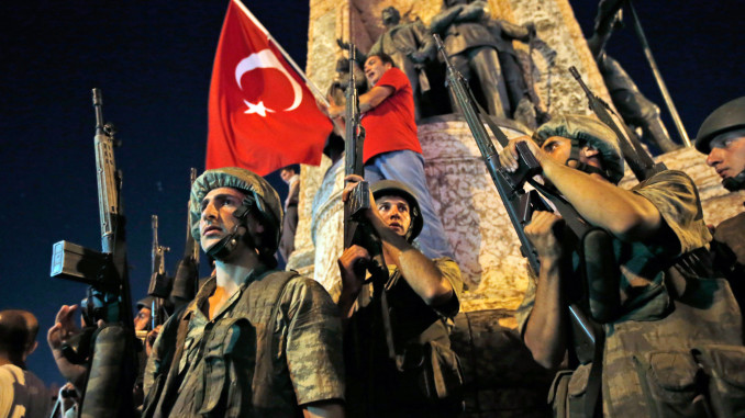Soldiers during coup (courtesy New York Times)