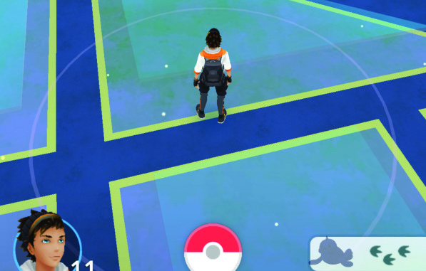 pokemon go screen capture