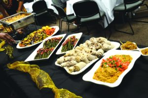 Assortment of food at the event. Alyssa Brown / the Watchdog