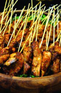 Chicken kebabs. Alyssa Brown / the Watchdog
