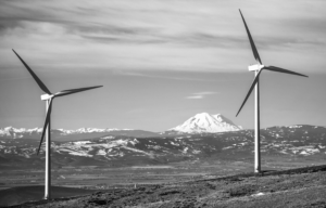 Wind turbines. Photo Courtesy of Puget Sound Energy