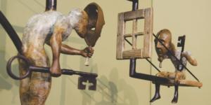 Thomas Wargin Sculptures Photo by Alyssa Brown / The Watchdog