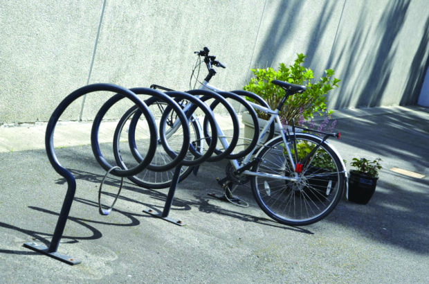 Students can still park their bikes in BC's regular bike racks.