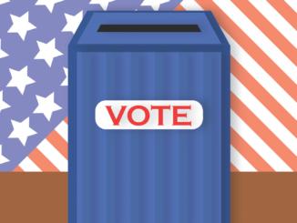 picture of a vote box