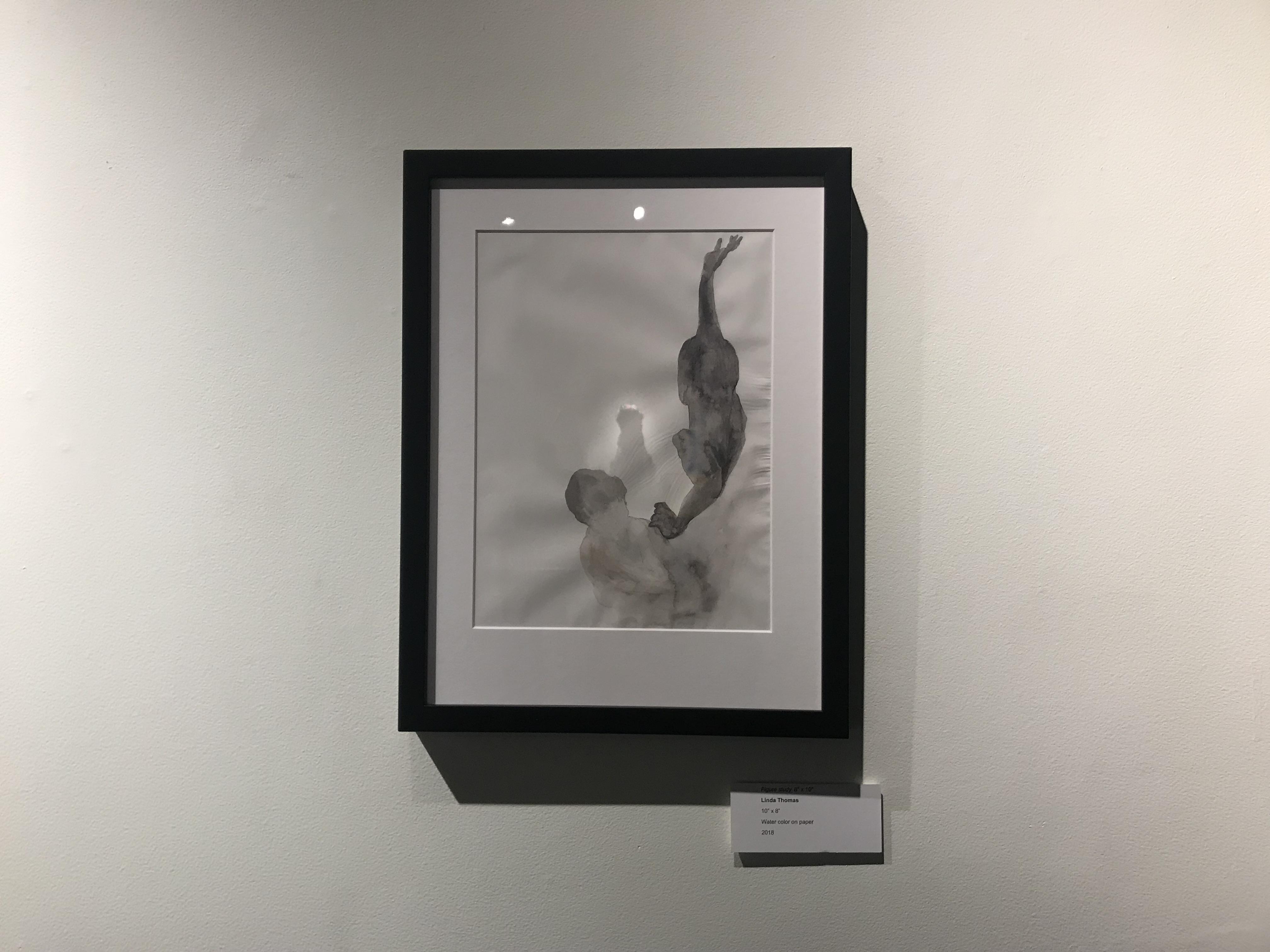 Figure study 8″ x 10″ by Linda Thomas