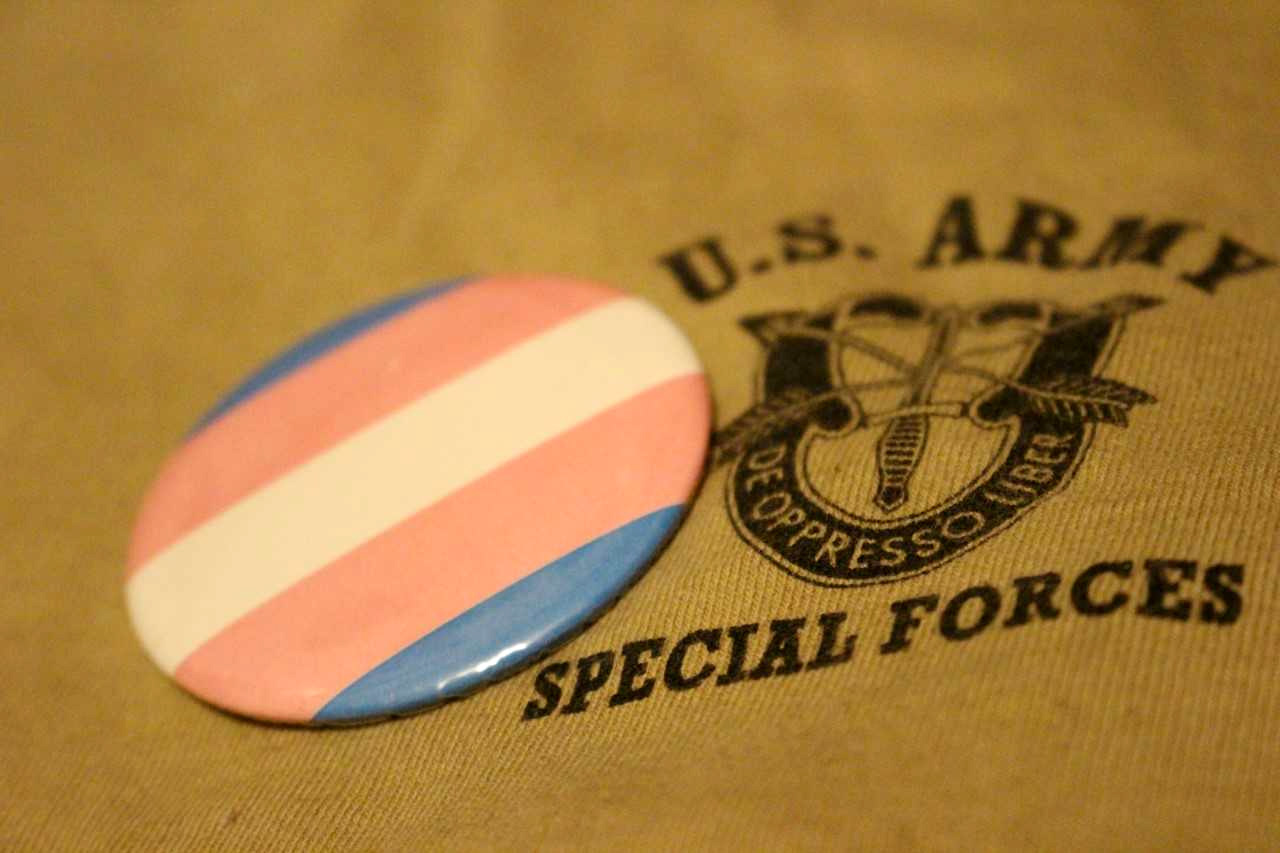 trans military ban online