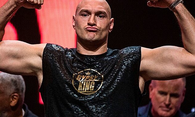 Tyson Fury declared king of heavyweights