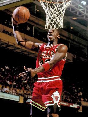 Chicago Bulls, Michael Jordan 1987-88.